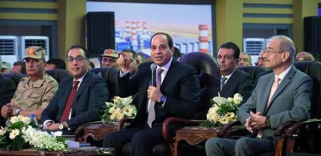 بالصور| محطات الكهرباء.. مشاريع تنير ربوع مصر