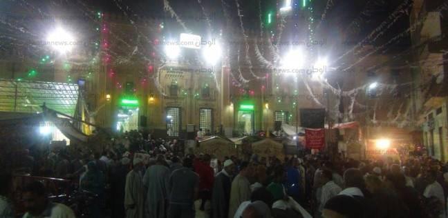 """توافد الآلاف على مدينة الشهداء للاحتفال بمولد """"سيدي شبل"""" بالمنوفية"""