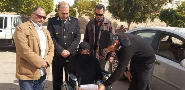 إعفاء 10 من ذوي الاحتياجات الخاصة من رسوم السجل المدني بجنوب سيناء