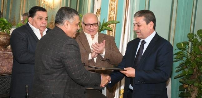 جامعة عين شمس توقع بروتوكول تعاون مع محافظة القاهرة لتدريب الشباب
