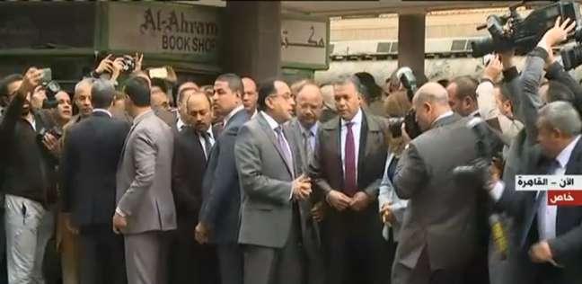 رئيس الوزراء: السيسي وجه الحكومة بتقديم أفضل رعاية لمصابي «محطة مصر»