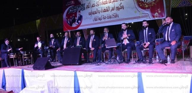 """فرقة """"أبو شعر"""" السورية للإنشاد الديني تحيي ليلة رمضانية بجامعة أسيوط"""