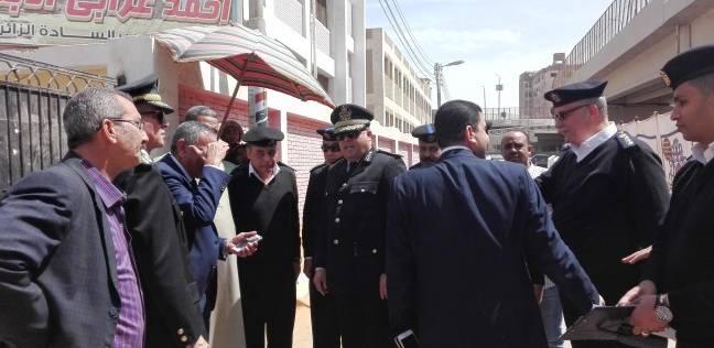 حكمدار الجيزة ونائب مدير الجنوب يتفقدان لجان البدرشين