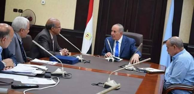 محافظ البحر الأحمر يلتقي رئيس الهيئة العامة للأرصاد الجوية