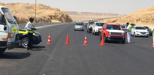 """""""المرور"""" تشن حملات بالرادار على الطرق السريعة خلال العيد"""