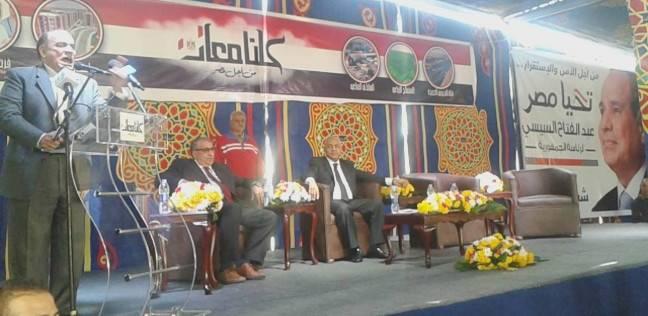 """""""فرج"""": """"السيسي"""" ضحى بنفسه واسمه من أجل بناء الدولة المصرية"""