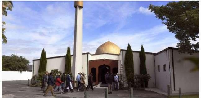 شرطة نيوزيلندا تفتح مسجد