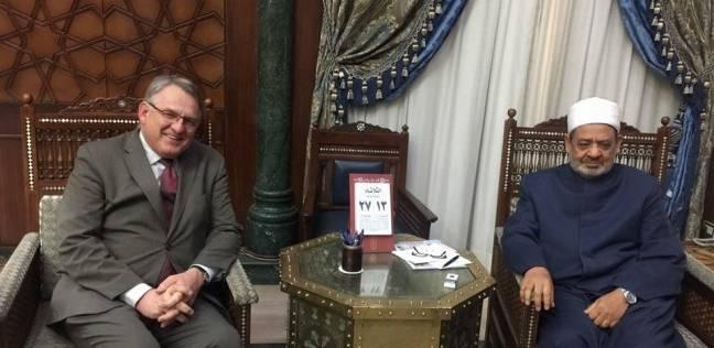 مدير المعهد السويدي بالإسكندرية يشيد بأهمية دور الأزهر الشريف