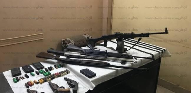 ضبط 178 قطعة سلاح ناري في حملات أمنية