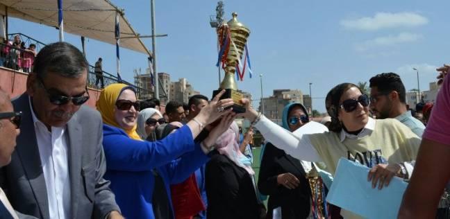 """""""التعليم"""" تختتم فعاليات مهرجان الأنشطة الطلابية بالإسكندرية"""