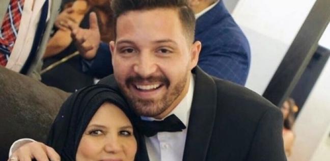 """محمود حجازي يوجه رسالة لوالدته بعد زواجه من أسما منير: """"أول صورة ليكي"""""""
