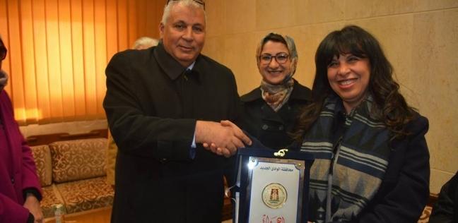 """محافظ الودي الجديد يكرم أعضاء قافلة """"روتاري مصر"""" الطبية"""