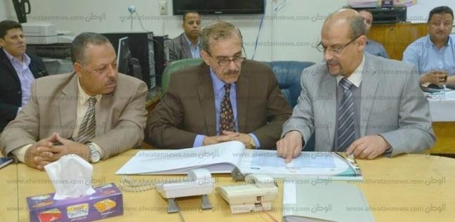 محافظ أسيوط يتابع منظومة ميكنة أملاك الدولة مع هيئة المساحة