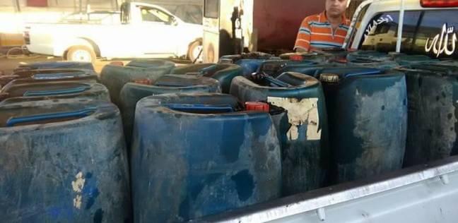 حملة تموينية مكبرة على محطات البنزين في دمياط