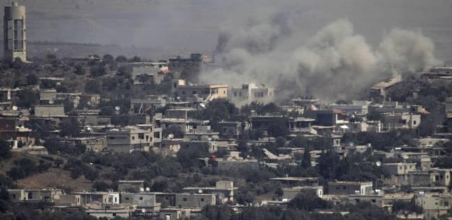 """غارة إسرائيلية على مواقع لـ""""حماس"""" في غزة"""