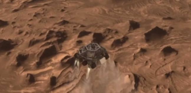 """لأول مرة بالتاريخ.. رصد هبوط مركبة """"ناسا"""" بالمريخ على الهواء مباشرة"""