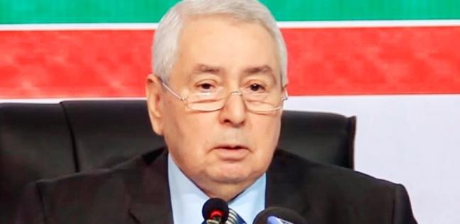 رئيس الجزائر المؤقت: قلقون من الأوضاع في ليبيا