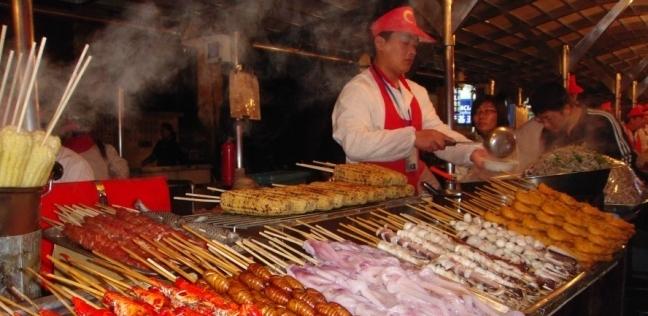 مطعم شعبي في الصين
