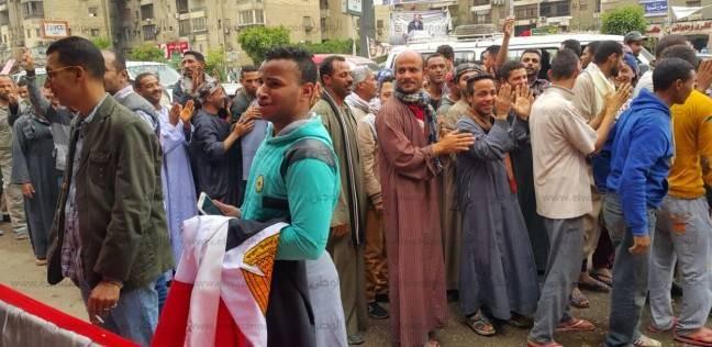 """""""مسن"""": شاركت في الانتخابات الرئاسية من أجل مصر والسيسي"""