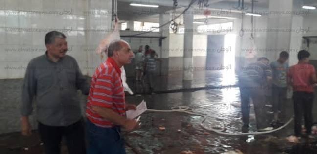"""""""صحة البحيرة"""" تتابع المجازر ومحطات المياه استعدادا لاستقبال عيد الأضحى"""