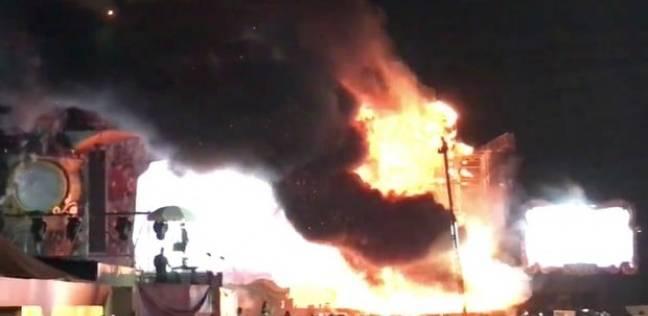 السيطرة على حريق بغرفة في منطقة آثار صان الحجر بالشرقية