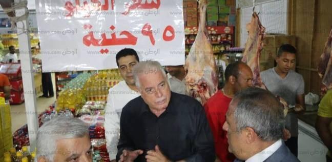 محافظ جنوب سيناء يوجه بإنشاء شوادر لبيع السلع بأسعار مخفضة