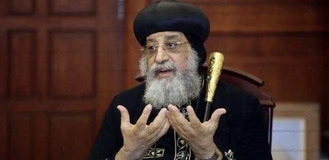 تواضروس: التحقيقات جارية في مقتل رئيس دير أبو مقار ولا تستر على أحد