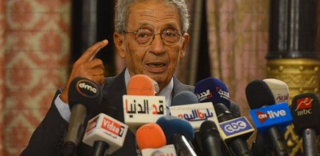"""عمرو موسى: علاقتي بـ""""مبارك"""" كانت متوترة في الفترة الأخيرة من حكمه"""