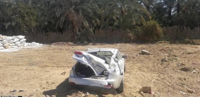 مصرع شخص في حادث انقلاب سيارة على الطريق الدولي الجديد بجنوب سيناء