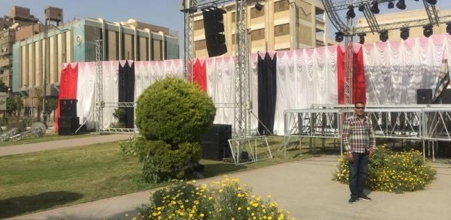 رئيس مدينة كفر البطيخ يتابع أعمال تطوير الطرق الرئيسية بالمركز