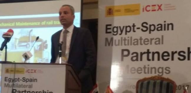 """النقل تستعرض المشروعات الاستثمارية في ملتقى """"شراكة مصر - إسبانيا"""""""