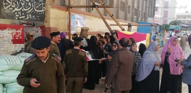 استعدادات أمنية بشبرا الخيمة لبدء اليوم الثاني للتصويت