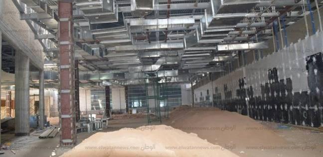وزير الطيران يتفقد المرحلة الثانية من تطوير مطار شرم الشيخ الدولي