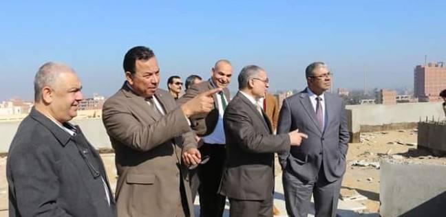 رئيس جامعة المنوفية يتفقد الإنشاءات الجديدة بمستشفى علاج الأورام