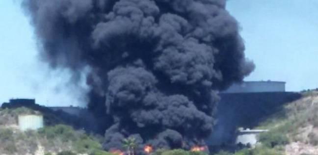 اليمن: السيطرة على حريق اندلع بخزان للنفط في عدن