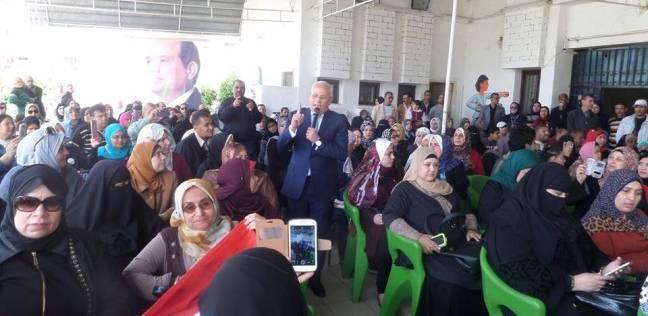 مؤتمر جماهيري للتوعية بأهمية بالمشاركة في الانتخابات الرئاسية ببورسعيد
