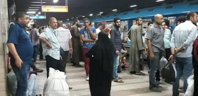 """""""مترو الأنفاق"""": صيانات دورية بالقطارات استعدادا للعام الدراسي"""