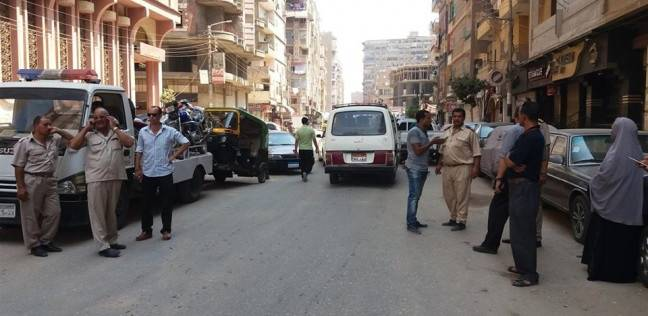 ضبط مخالفات مرورية في حملة بميت غمر