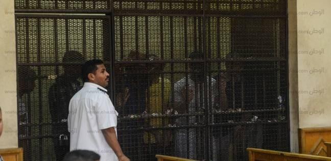 12 أغسطس.. الحكم على متهم بإحراق سيارة شرطة في حلوان