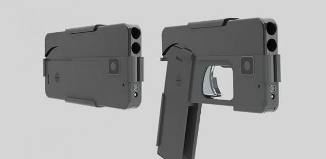 مسدس يتنكر في هيئة هاتف محمول