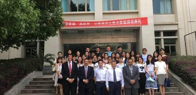 """3 منح دراسية جديدة من """"بكين للغابات"""" لجامعة بنها"""