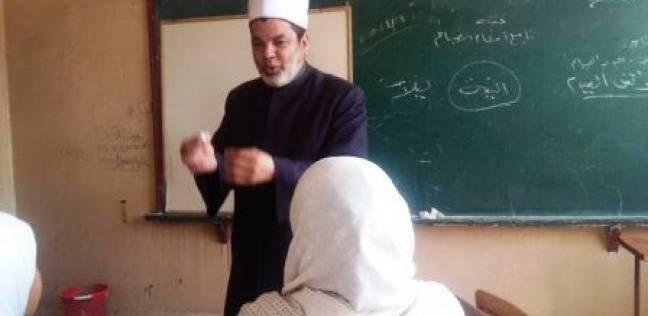 """رئيس """"الشرقية الأزهرية"""" يتابع العملية التعليمية في إدارة أبو كبير"""