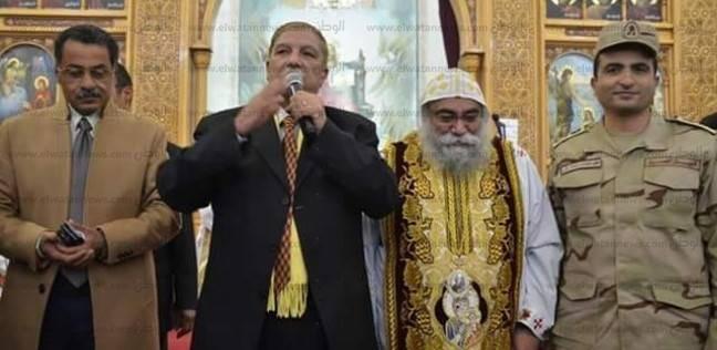 محافظ الإسماعيلية: القداس الإلهي عكس مشاعر المحبة بين أبناء الوطن