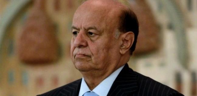 الرئيس اليمني يعزي السيسي في ضحايا حادث محطة مصر