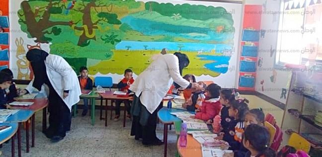 """""""صحة سوهاج"""": حملة تطعيم شلل الأطفال تستهدف 800 ألف بالإقليم"""