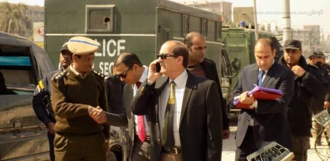 بالصور| مدير أمن قطاع شمال القاهرة يتفقد تأمين لجان بولاق أبوالعلا