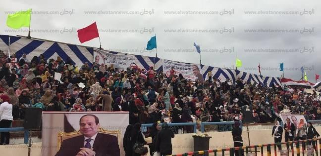 """""""انزل شارك علشان مصر"""".. مؤتمر جماهيري بمطروح لدعم السيسي"""