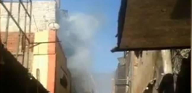 عاجل| الدفع بـ16 سيارات إطفاء للسيطرة على حريق ببولاق أبو العلا