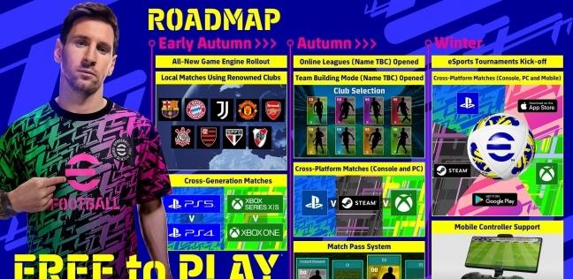 efootball pes 2022 .. تعرف على مميزات وموعد إصدار اللعبة الشهيرة