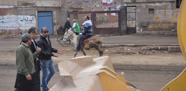 بالصور  رئيس مدينة المحلة يوجه بإجراء حملات نظافة ورفع أكوام القمامة